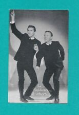 The Righteous Brothers 1960's Billboard Exhibit Arcade Card - Collector Item