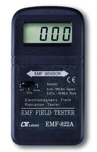 Lutron EMF-822A Electromagnetic Field Tester 30-300Hz 20 micro Tesla x0.01