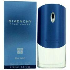 GIVENCHY POUR HOMME BLUE LABEL EAU DE TOILETTE SPRAY 3.3 Oz / 100 ml BRAND NEW!