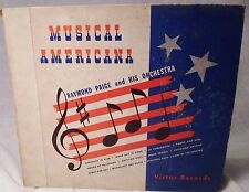 Musical Americana 78 RPM Record Set Raymond Paige & Orchestra 1940 Victor