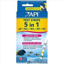 API Aquarium Test Strips 5 in 1 - Pack of 25 Test Strips