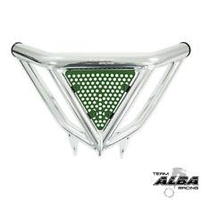 TRX 450R 400EX Intimidator  Front Bumper Sil & Green Screens  Alba Racing N3 SG