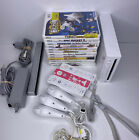 Nintendo Wii Console Lot System Bundle w/ Games Wii Fit Ect.