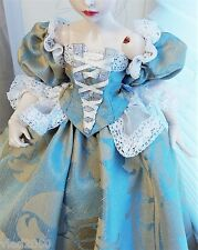 Historic costume vintage outfi BJD 1/4 MSD MiniFee Girl OOAK clothes/dress EVA1