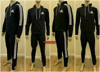 Adidas Top & Bottom Men's Full Tracksuit Hoodies sports