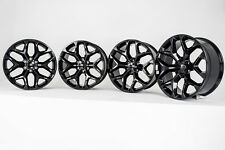 "Black GMC Denali Wheels Rims 20"" CK156 Snowflake Yukon Sierra 2016 2017 2018 NEW"