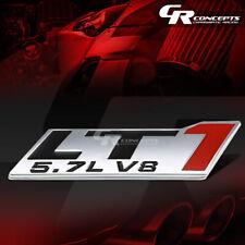 3M TAPE ON METAL EMBLEM LOGO TRIM BADGE POLISH CHROME FOR 5.7 CHEVY/GM LT1 LT V8