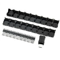 10x Micro USB 5-Pin Male Connector Port Solder Plug Plastic Cover Fr DIY Adapter