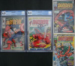 Daredevil 43 CGC 6.5 81 CGC 8.5 + Bonus Books 4 Books Total WHITE PAGES!