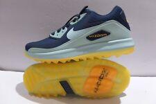 Women's NIKE AIR ZOOM 90 Sz 8.5 Navy-teal-Orange Rory Mcilroy Golf 844648 400