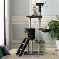 New listing Cat Tree & Condo Scratching Post Tower Furniture/ Tall Cat Condo Climb Furniture