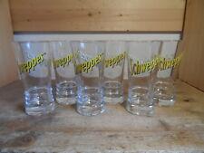 6 Schweppes Gläser