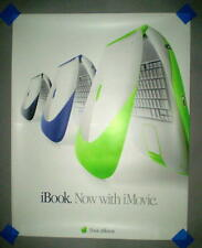 "Apple ""iBook ""Now with iMovie"" Poster"