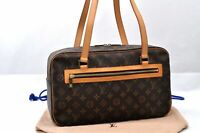 Authentic Louis Vuitton Monogram Cite GM Shoulder Bag M51181 98659