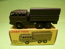 DINKY TOYS 818 BERLIET CAMION MILITAIRE - ARMY MILITARY TRUCK 1:55 - RARE - NMIB