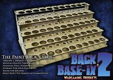 MDF Paint Bottle Rack Modular Organizer for Model Master Paint 43 Pots