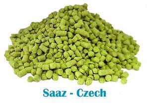 Saaz Hop Pellet (2019 Harvest Czech T90 Brewing Hops) Weights 50g,100g,250g,450g