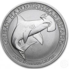 Australia Hammerhead Shark 2015 50 cents. 0,5 OZ (15,55 gr.) Argento 999 Silver