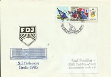 Ersttagsbrief FDJ 1985  vom 21.05.1985 - Mi.-Nr.:2948