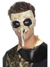 Men's Plastic Venetian Costume Masks