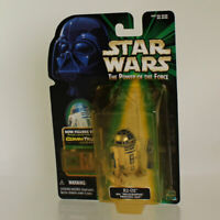 Star Wars - Power of the Force Action Figure -R2-D2 with Holo Princess Leia *NM*