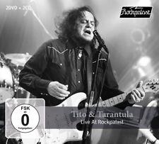 TITO & TARANTULA - LIVE AT ROCKPALAST 2008 & 1998 +2DVD 3 CD+DVD NEU