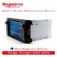 """6.2"""" Car DVD Nav GPS Head Unit Stereo Radio For Dodge Avenger 2007-2009"""