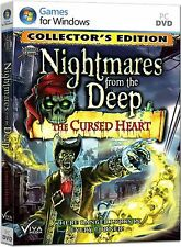 NIGHTMARES FROM THE DEEP: THE CURSED HEART Hidden Object Collector's Ed PC NEW