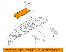 AUDI OEM 13-16 A4 Quattro Trunk Lid-License Panel 8K582711301C