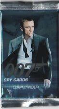 JAMES BOND 007 SPY  COMMANDER  : BASE / BASIC CARDS...CHOOSE