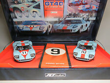 Slot racing Team Gulf-Ford GT40 Team 05 1/32 REF 96016