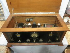 """<>1925 Browning Drake """"Special� 3 Tube Ornate Radio Receiver with Meter- Nr<>"""