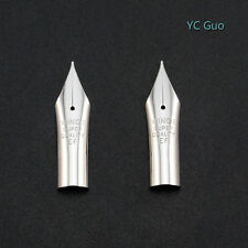 2X Extra Fine Nibs For Wing Sung 659 & Wing Sung 698 Fountain Pen Silver Color