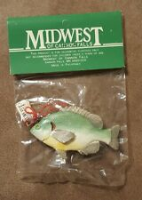 SUNFISH , Fishing Christmas Ornament Midwest of Cannon Falls