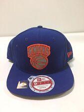 NEW Era New York Knicks Snapback Hat /Cap 3M LOGO  ROYAL/Orange NEW OS