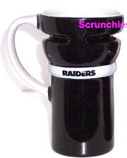 Oakland Raiders Travel Coffee Mug Cup Black Pewter NFL Football New