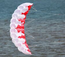 Trainer Kite 2m Kitesurfing & Kiteboarding Parachute Red&White Free Shipping