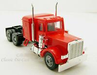 Peterbilt w/Sleeper Red Long Tandem Axle HO 1/87 Scale Promotex 25285