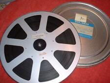 Super 8 Elmo Metallspule LEERSPULE mit Haifischfang Privatfilm Portugal Ton 360m