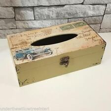 Rectangular Decorative Tissue Boxes with Lid