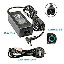 HP Laptop Adapter Charger 740015-003 741727-001 19.5V 2.31A 45W With Power Cable
