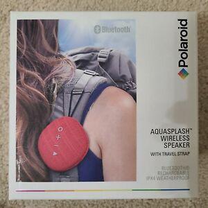 Polaroid Aquasplash Wireless Speaker with Travel Strap New