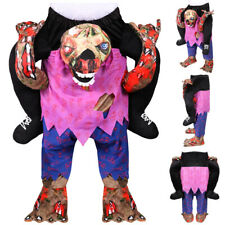 HALLOWEEN ZOMBIE COSTUME PICK ME UP TROUSERS ADULTS MENS FUNNY RIDE FANCY DRESS