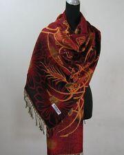 Pashmina foulard châle écharpe étole Cachemire laine soie s72