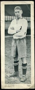 Trade Card, Topical Times, FOOTBALLERS, 1934, 250 x 95, Ray Westwood, Bolton