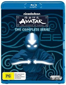 Avatar The Last Airbender The Complete Collection Box Set Blu-ray Region B NEW