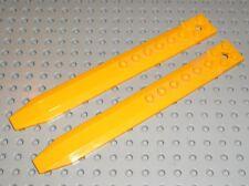 2 x Pale LEGO NINJAGO BtLtOrange rotor blade ref 62743 / Set 2507 Fire Temple