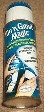 Vintage Nos 70s Tile 'N Grout Magic Cleaner Spray Can Nostalgic Display