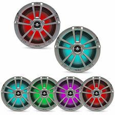 """Infinity 622MLT 6.5"""" Coaxial Waterproof Marine RGB LED Titanium Speakers (Pair)"""