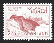 Greenland 1982 Whale Hunting Mint Unhinged